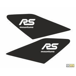 mountune Dynamic Wing Splash - Satin Black - Ford Focus RS