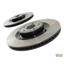 mountune Front Grooved Discs (pair) - Ford Focus RS