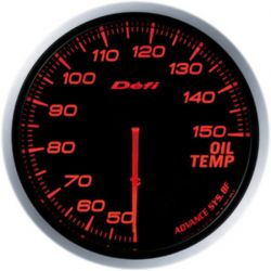 Defi Advance BF Amber Oil Temperature Metric 60mm Gauge