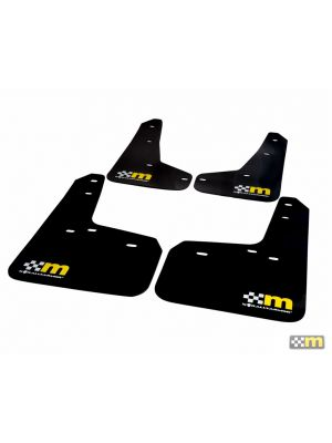 mountune Mud Flaps - Ford Focus ST MY13-18 / RS MK3 MY16-18