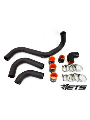 ETS Intercooler Piping Wrinkle Black - Ford Focus RS MY16+