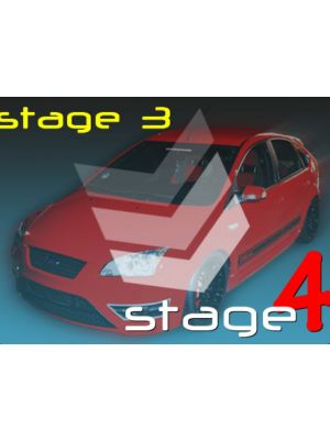 Dreamscience Turbo X Upgrade Stage 3 to Stage 4 - Ford Focus ST225 / XR5