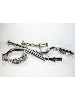 CorkSport Power Series Turbo Back Exhaust - Mazda 3 MPS BK MY07-09