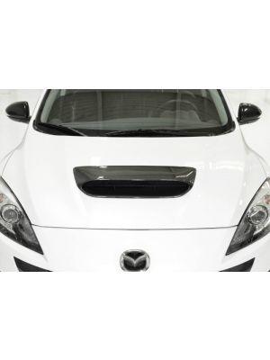 CorkSport Hood Scoop - Mazda 3 MPS BL MY10-13