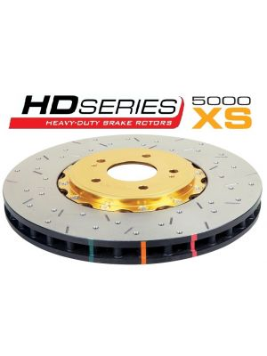 DBA 5000 Series Cross Drilled Brake Rotors - Subaru WRX GD MY05-07 / Liberty BM, BR MY09-12 / Outback MY00-03