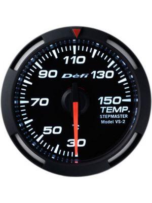 Defi White Racer Temperature Gauge Metric 52mm 30-150C