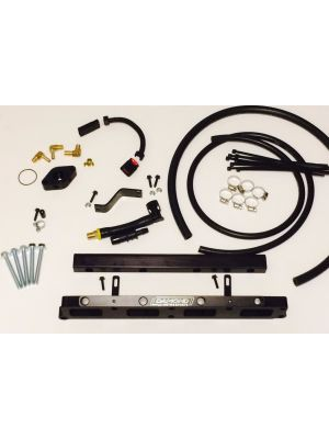 Damond Motorsports ST Manifold Port Injection Adapter Kit - Mazda 3 MPS MY10-13