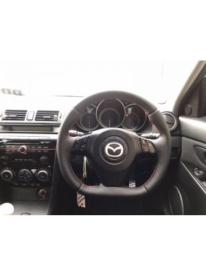Reggie Custom Steering Wheel - Mazda 3 MPS
