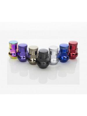 Wheel Mate Muteki SR35 Close End Lug Nuts w/ Lock Set - 12x1.50 35mm