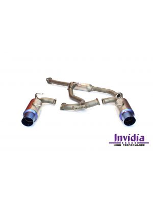 Invidia G5 Titan Titanium Cat Back Exhaust - Subaru BRZ