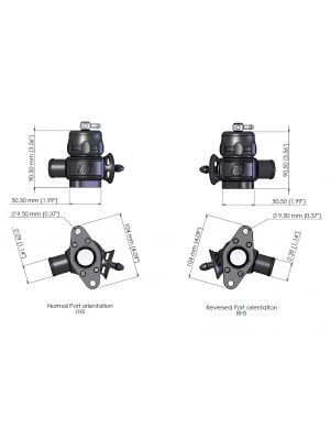 Turbosmart Dual Port Smart Port Kit - Nissan GT-R R35 MY08-16