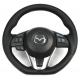 CorkSport Leather Steering Wheel - Mazda 3 MY14-16 / Cx5 MY13-16 / Cx3 MY16+