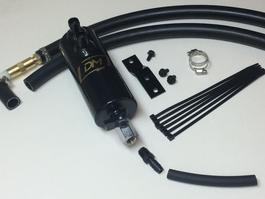 Damond Motorsports Stage 1 Oil Catch Can Kit - Mazda 3 MPS BK MY06-09