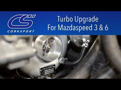 CorkSport CST4 Turbo Upgrade TD05H-18G - Mazda MPS 3/6