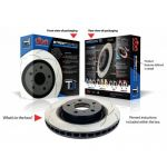 DBA Street Series T2 Slotted Brake Rotor Front - Mazda RX8