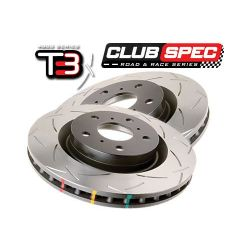 DBA T3 4000 Series Slotted Front Rotor - Ford Focus RS Mk3
