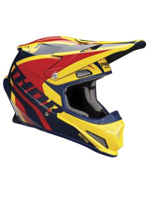 Sector Helmet - Ricochet Navy / Yellow