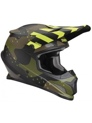Sector Helmet - Green Camo