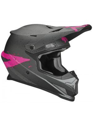 Sector Helmet - Hype Gray / Pink