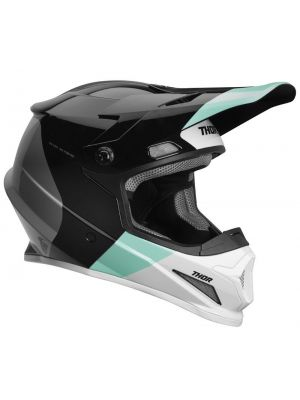 Thor Sector Helmet Black / Mint