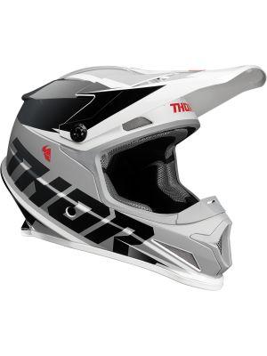 Sector Helmet - Fader Black / White