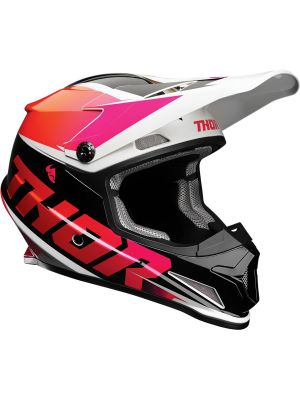 Sector Helmet - Fader Orange / Magenta