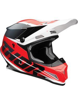 Sector Helmet - Fader Red / Black