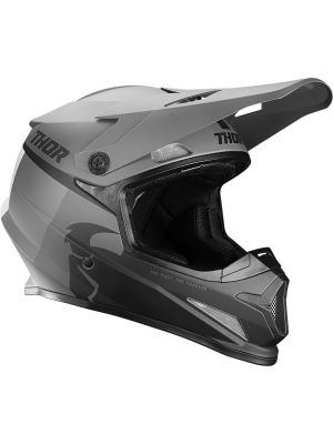 Sector Racer Helmet - Black / Charcoal