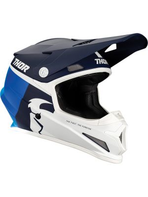 Sector Racer Helmet - Navy / Blue