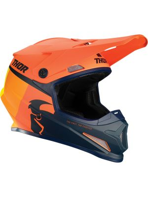 Sector Racer Helmet - Orange / Midnight