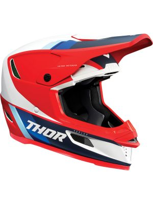 Thor Reflex Apex Helmet Red / White / Blue