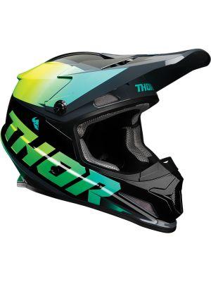 Sector Helmet - Fader Acid / Teal