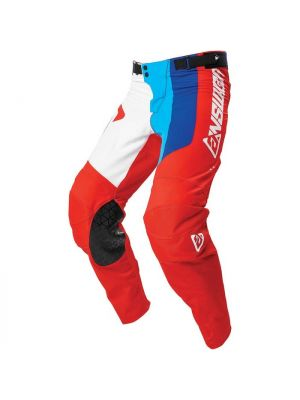 Answer 2021 Pace Elite Pants White/Red/Hyper Blue