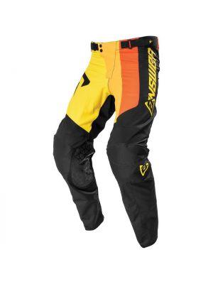 Answer 2021 Pace Elite Pants Yellow/Black/Orange