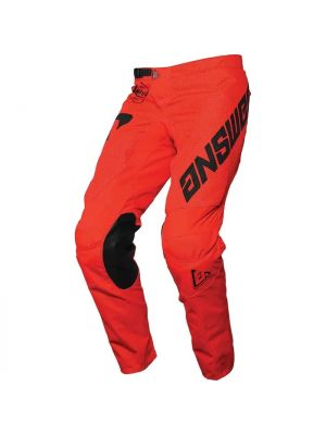 Answer 2021 Bold Arkon Pants - Red / Black