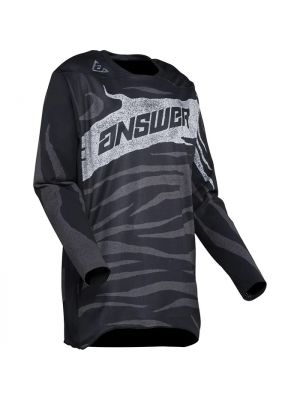 Answer 2021 OPS Elite Jersey - Black/Charcoal