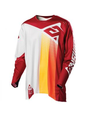 Answer 2021 Pace Elite Jersey Ghost/Berry/Orange