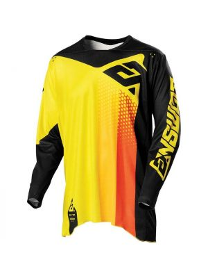 Answer 2021 Pace Elite Jersey Yellow/Black/Orange