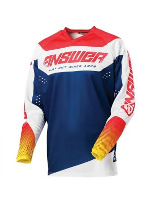 Answer 2021 Charge Youth Syncron Jersey - Air Pink/Pro Yellow/Midnight