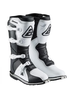 Answer 2021 MX AR-1 Boot Adult White/Black