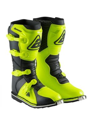 Answer 2021 MX AR-1 Boot Adult Hyper Acid/Black