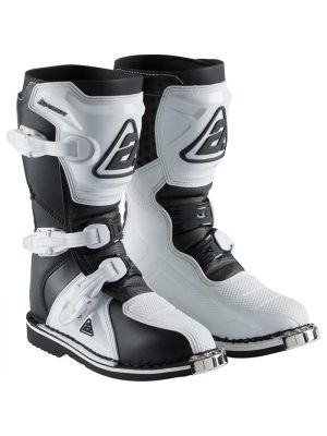Answer 2021 MX AR-1 Boot Youth White/Black