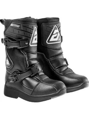 Answer 2021 MX Boot Peewee Black/Black