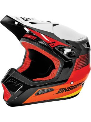 Answer 2021 Swish AR-1 Helmet Red/Orange/Silver