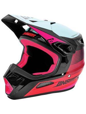 Answer 2021 Swish AR-1 Helmet Berry/Air Pink/Seafoam