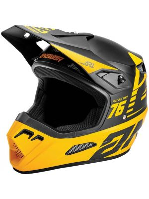 Answer 2021 Bold AR-1 Helmet Black/Bus