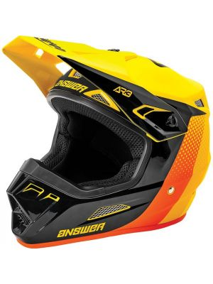 Answer 2021 Pace AR-3 Helmet Yellow/Black/Orange