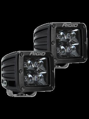 Rigid Industries D-Series Midnight Edition - Spot - Set of 2