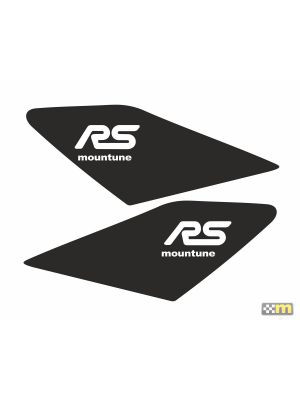 mountune Dynamic Wing Splash - Satin Black - Ford Focus RS