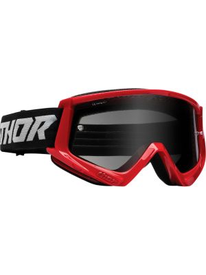 Thor Combat Racer Sand Red / Gray Goggles